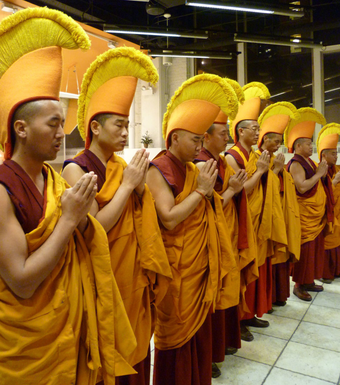Sacred Art Tour Of Tibetan Monks
