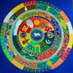 World Peace sand mandala at florida craftart st petersburg