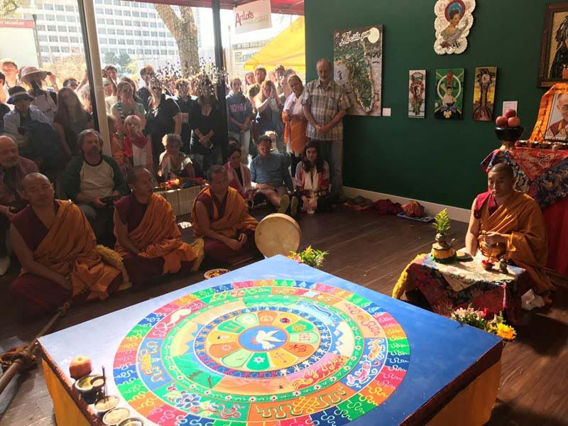 Tibetan Monk Follow Up Art and Spirituality