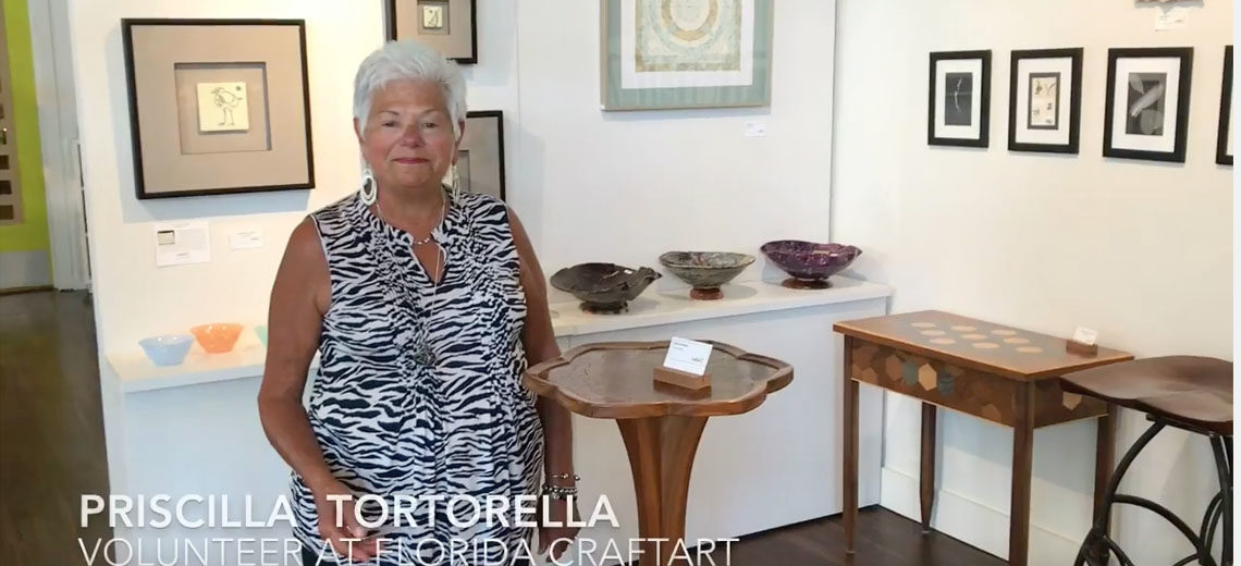 Volunteer Priscilla