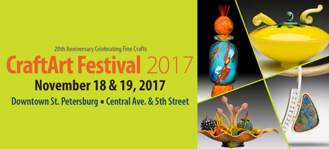 CraftArt 2107 Fine Arts Festival St Petersburg Florida