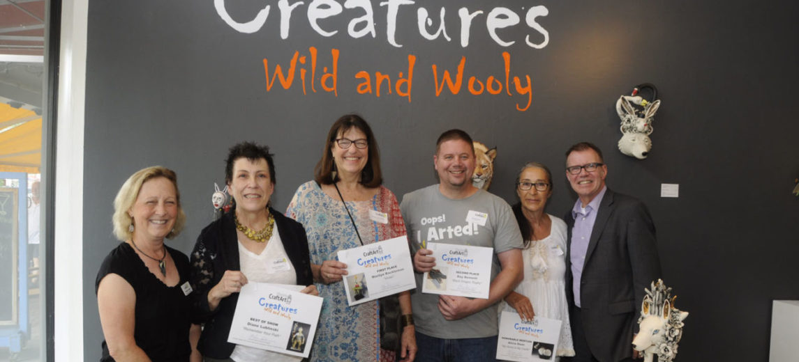 Florida CraftArt Exhibition Creatures Wild and Wooly