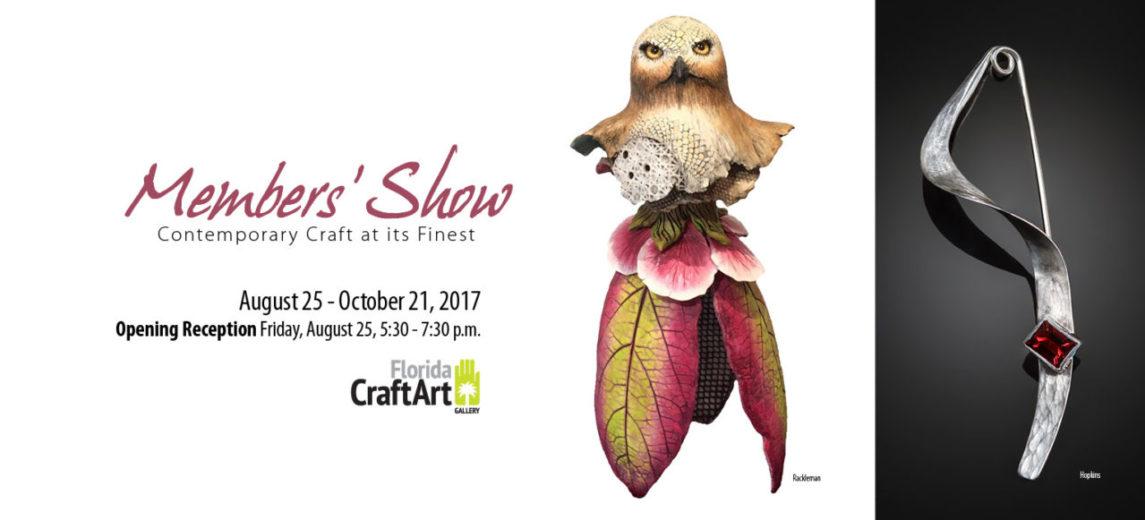 Florida CraftArt Members Show & Sale