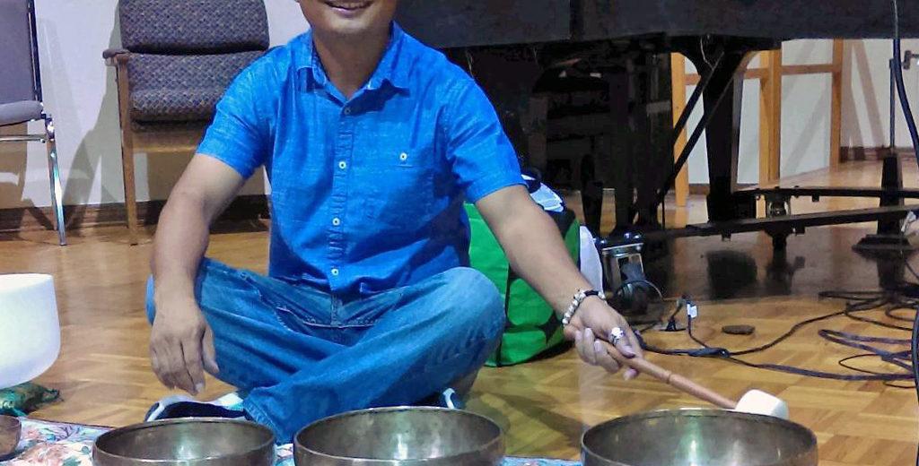 Alex Gopali tibetan signing bowls