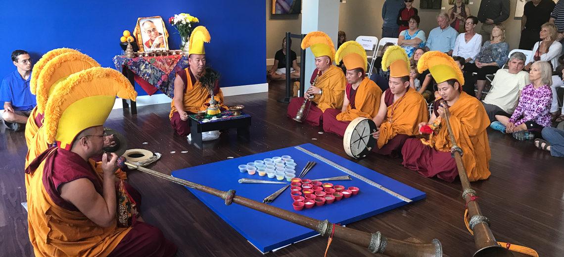 Sacred Art Tour of Tibetan Monks 2020