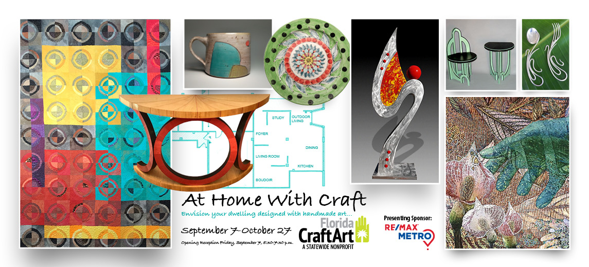 At Home With Craft interior design exhibition florida craftart