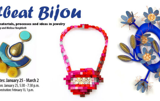 Offbeat Bijou jewelry exhibition florida craftart