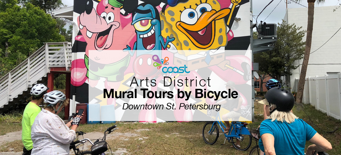 St. Pete Mural Tours by Bicycle