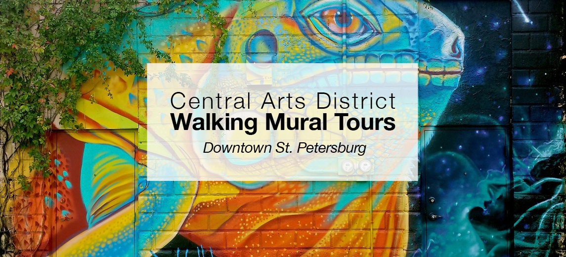 st pete walking mural tours