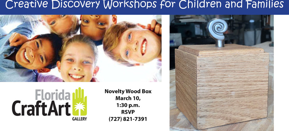 Creative Discovery Workshops FB Event-Novelty Wood Box