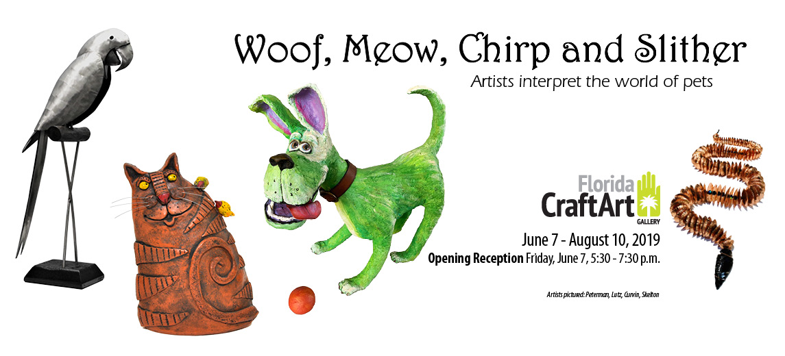 Exhibition: Woof, Meow, Chirp and Slither
