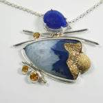 Renee Davis-Gold Rush pendant