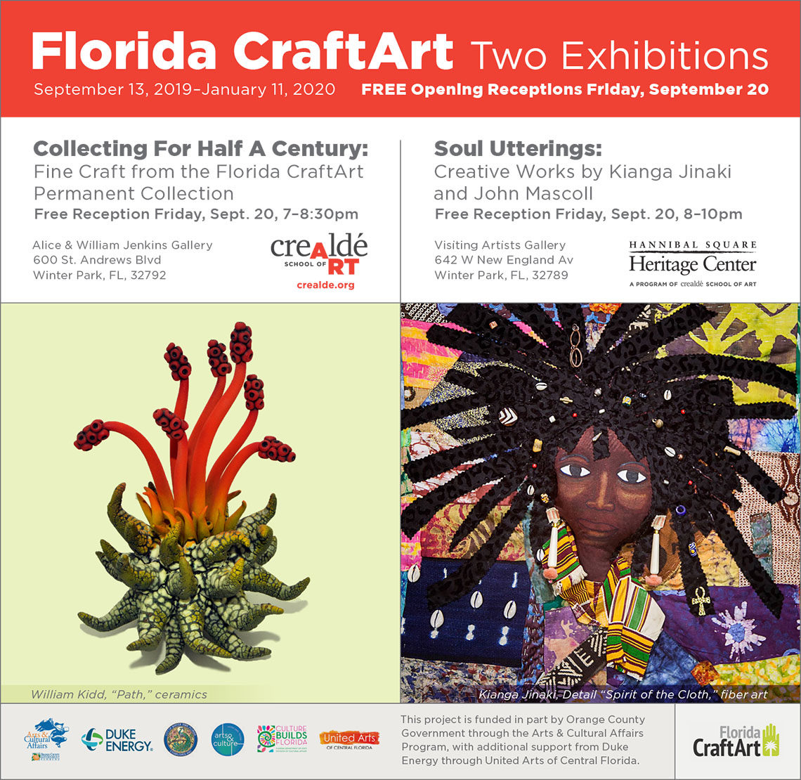 crealde permanent exhibition florida CraftArt