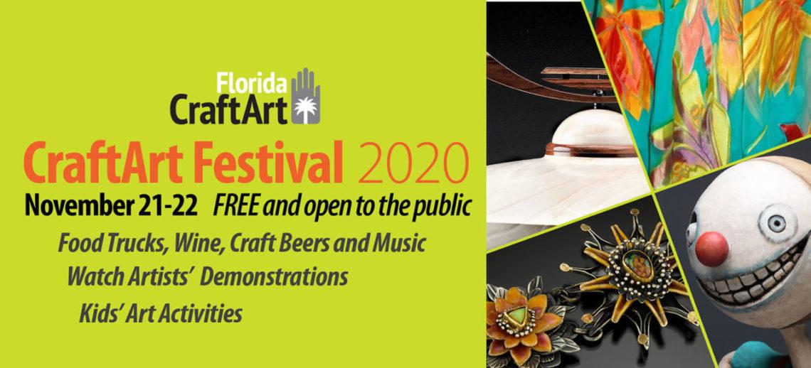 CraftArt 2020 craft art festival web header